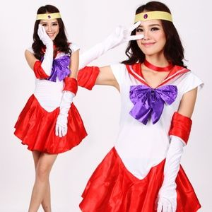 Bundle of 3 Sailor Moon Costumes
